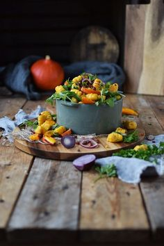 Kürbis Gnocchi Salat: Herzhafter Spätsommer | Das Knusperstübchen | Bloglovin'