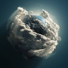 """This is supposed to be a """"official"""" picture of the """"earth"""" taken by the Hubble """"telescope."""" A picture like this only proves space is fake, the earth is not a sphere, the earth is flat with a firmament(as in God's holy word) and NASA is a lie."""