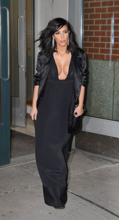 Out in New York. See the best of Kim Kardashian's 2015 outfits.
