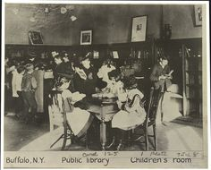 Buffalo, N.Y. - Public library - children's room   Library of Congress