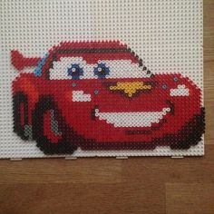 McQueen Cars hama beads by miameyland