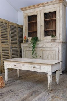French antique coffee table