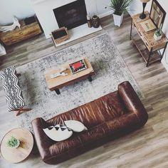 Cigar Rawhide Brown Sofa - Sofas - Article | Modern, Mid-Century and Scandinavian Furniture