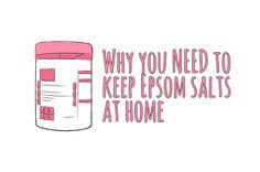 18 reasons why you NEED to keep Epsom Salts at home.  http://experthometips.com/2015/07/31/why-you-need-to-keep-epsom-salts-at-home/