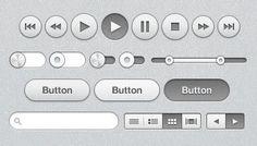 Free: iTunes inspired UI - Orman Clark Design Resource