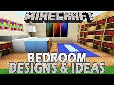 Minecraft bedroom ideas on pinterest minecraft bedroom for Nice bedroom designs minecraft