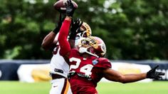 Proof Redskins Corner Josh Norman Isn't Getting Burned in One-on-One Drills