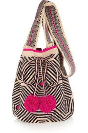 Lilla crocheted cotton shoulder bag | THE OUTNET