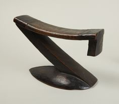 Tsonga, South Africa or Mozambique, Headrest, 20th century. Wood | Princeton University Art Museum
