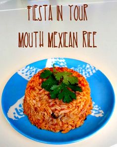 Fiesta in Your Mouth Mexican Rice - Pinch of Nutmeg