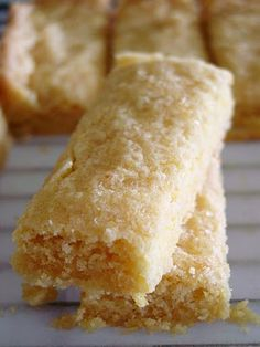 lemon shortbread. Perfect.