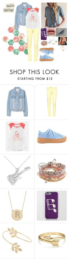 """Rebecca's spring outfit"" by alexishambleton on Polyvore featuring mode, MANGO, Great Plains, Billabong, Allurez, Aéropostale, Jennifer Meyer Jewelry, Miss Selfridge et Bling Jewelry"
