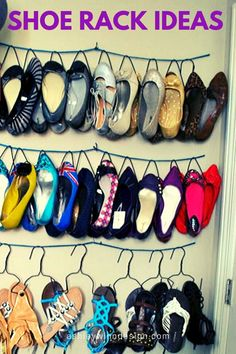 47 Awesome Shoe Rack Ideas in 2020 (Concepts for Storing Your Shoes) Well-organized shoe racks help you grab them fast while needed. It is not that hard to keep them we Outdoor Shoe Storage, Under Bed Shoe Storage, Entryway Shoe Storage, Diy Shoe Storage, Bench With Shoe Storage, Storage Ideas, Garage Shoe Rack, Shoe Rack Closet, Wood Shoe Rack
