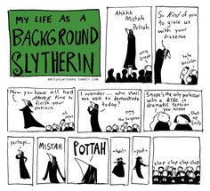 Background Slytherin - Snape picking on Potter Harry Potter Comics, Harry Potter Jokes, Harry Potter Fandom, Background Slytherin, Severus Rogue, Severus Snape, Slytherin Pride, Ravenclaw, Yer A Wizard Harry