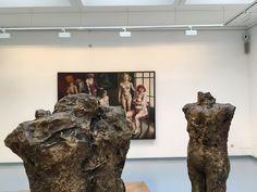 """Blick in die Ausstellung von Thomas Gatzemeier """"Jüngster Friede"""" im Kunstverein Siegen 2016"""