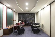 RCA Studios - The Music School, Ahmedabad-Drum room by Ragnesh