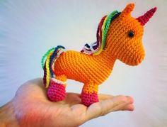 Unicorn Amigurumi - Free English Pattern