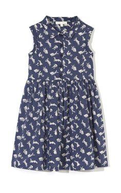 Rabbit Shirt Dress by Marie-Chantal for Preorder on Moda Operandi