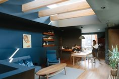 """House for Y bykurosawa kawara-ten """"location : Ichihara, Japan"""" 2016 House Plans, Conference Room, Layout, Interior Design, Architecture, Gallery, Table, Interiors, Japan"""