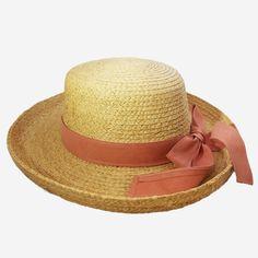 Nantucket Red Ribbon Straw Hat