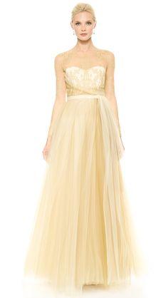 Temperley London Long Grace Bridal Dress | SHOPBOP