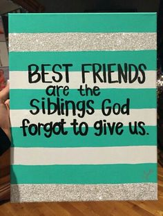 37 ideas diy gifts for bff birthday best friends Bff Birthday, Birthday Gifts For Best Friend, Birthday Quotes, Birthday Message, Birthday Presents, Bestfriend Birthday Ideas, Present For Best Friend, Birthday Canvas, Bff Quotes