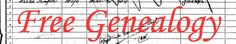 Free-Genealogy - Search Free Genealogy and your Ancestry today.