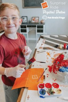 Check out one of our most popular kits from our Digital Detox collection of Surprise Ride, Build & Paint a Volcano! Future geologists are sure to blow their top when they get a load of this crafty science kit! From Fat Brain Toys. Photo by @walzstreetjournal Summer Fun For Kids, Summer Activities For Kids, Science Kits, Science Activities, Craft Kits For Kids, Diy For Kids, Engineering Toys, Online Toy Stores, Best Educational Toys