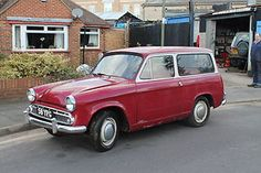 Hillman Husky - same colors as the one we had in 1974 Hillman Husky, Automobile, Ford Anglia, British Car, First Car, Unique Cars, All Cars, Station Wagon, Motor Car