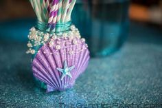 99 Fun & Happy Mermaid Party Ideas, Check Now! Mermaid Party Decorations, Mermaid Baby Showers, Little Mermaid Parties, Party Themes, Party Ideas, Glitter Party, Quinceanera Party, Mermaid Birthday, Barbie Birthday