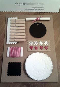 chalkboard tags kit
