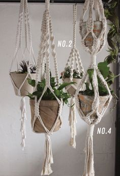 Classic Macrame Plant Hanger No. 4