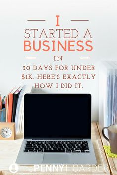 Wondering how to start a business? This writer built her new venture in 30 days for less than $1,000… and she's already made nearly $7K. Here's how she did it. - The Penny Hoarder http://www.thepennyhoarder.com/how-to-start-a-business-in-30-days-for-less-than-1000/