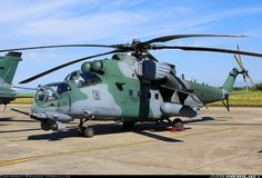FAB AH-2 Sabre-Mil Mi 35M Attack Helicopter by Ricardo Hebmuller