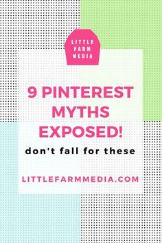 9 Pinterest Marketing Myths Exposed | Little Farm Media