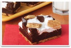 Yummy!!S'MORE BROWNIES