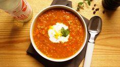 Ägyptische Linsen-Karotten-Suppe. Leckerschmecker! Für Kurkuma- und Kuminliebhaber ein absolutes Muss!