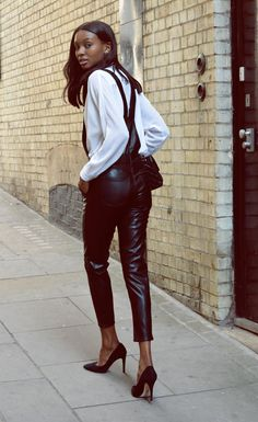 Dungarees with Pearls