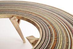 'Grit': Una colección de muebles diseñados a partir de la molienda del papel de lija AVI FEDIDA STUDIO