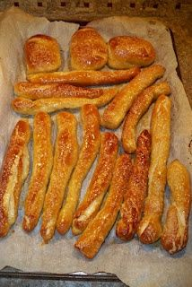 Homemade pretzels, better than Auntie Annie's and way easier than going to the mall.