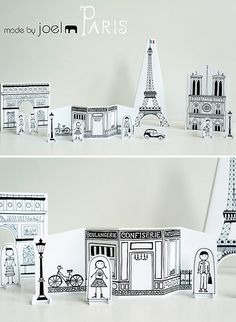 Free downloadable Paper City and Paper City Paris