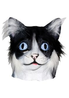 If you've always wanted to create a real life internet meme, then you gotta get our Cat Latex Mask. Word on the street is that it's the new horse mask!