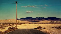 "flashofgod: "" Albert Watson, Road to Nowhere, Las Vegas, 2001. """