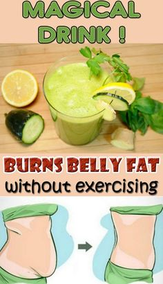 Magical Drink that Burns Belly Fat Without Exercising - 10 Best Flat Belly Tips, Tricks and Infographics