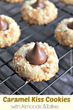 Caramel Kiss Cookies