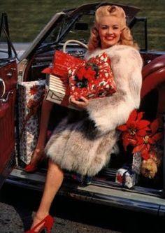 Betty Grable Christmas