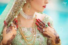 #Pakistani Bride CU, via http://rammalmehmud.com/ Islamabad, Pakistan