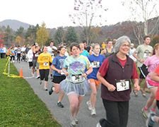 The Charles R. Duke Race for Families held at the Boone Greenway raised $3,000 for local families. The run/walk and roll event was a fundraiser benefiting Parent to Parent Family Support Network-High Country, a program that supports families who have children with special needs.