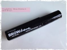 Maybelline Brow Drama Dark Brown Review