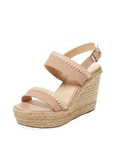 ef5b5d1c82 Venitia Espadrille Wedge Sandal by Maiden Lane at Gilt Vintage Fashion